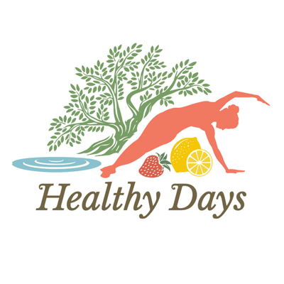 Healthy days logo round